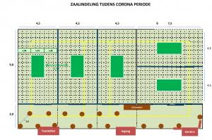 """Belangrijke informatie """"NTTC-CORONA PROTOCOL"""" voor leden en bezoekers"""